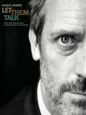 Hugh Laurie Let Them Talk Learn to Play Pop PIANO Guitar PVG Music Book
