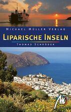 LIPARISCHE INSELN Michael Müller Reiseführer 07 M o. Sizilien Italien NEU Lipari