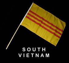 SOUTH VIETNAM VIETNAMESE Hand Waver Flag - 30x45cm