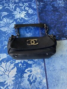 Chanel bag 100% Authentic Black CC logo
