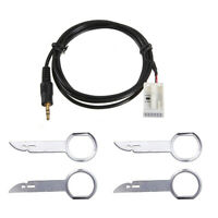 3.5mm 6000 CD AUX In Input Adapter Cables for Ford Focus C-MAX Mondeo Fiest H5Q8