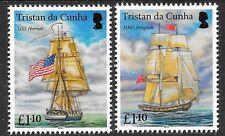 TRISTAN DA CUNHA SG1129/30 2015 HORNET/PENGUIN (SHIPS) MNH