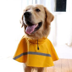 Dog Pet Outdoor Winter Waterproof Rain Coat Jacket Fleece Reflective Safe YO