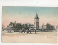 Kimberley Government Buildings South Africa Vintage U/B Postcard 410b