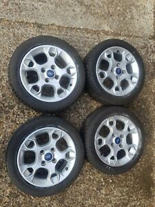 Fiesta Mk7 Alloys 15inch With Winter Tyres