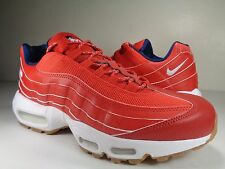 Nike Air Max 95 Premium USA Independence Day Red White Blue SZ 8 (538416-614)