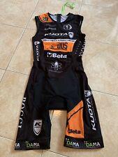 DA.MA. Bodysuite Chronosuite Ciclismo Triathlon TG.M Matteo Fontana DDS