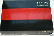 OPIUM YVES SAINT LAURENT Gift-Box Genuine YSL Collector's Item Black/Red/Gold