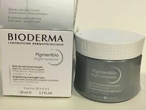 Bioderma Pigmentbio Night Renewer 50ml Dark spots NIB