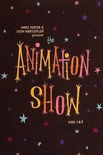 The Animation Show - Mike Judge & Don Hertzfeldt Volumes 1 & 2 Sealed DVD New
