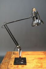 Herbert Terry Black Anglepoise 1227 20th Century Desk Lamp Square Base Working