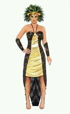 Smiffy's Ladies Halloween Medusa Fancy Dress Costume - Small Womens Size 8 - 10