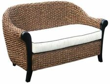 Water Hyacinth Soldano Love Seat made by Chic Teak