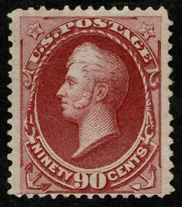 Scott#166 90c Commodore Oliver Hazard Perry 1873 Mint No Gum