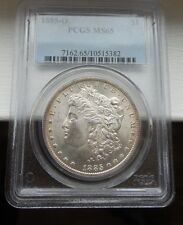 1885 O Morgan Dollar - PCGS MS65 -