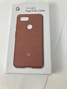Original OEM Google Fabric Case cover for Pixel 3xl Pink Moon Fabric GA0050