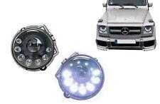 Scheinwerfer Für  Mercedes W463 G-Klasse G63 G65 89-12 Schwarz M-Design Bi-Xeno