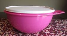 Tupperware JUNIOR Jr. Thatsa Bowl Confident PINK  12 cups 2.75 L