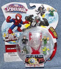 MARVEL ULTIMATE SPIDER-MAN SERIES 1 FIGHTER PODS 4 PACK SET #12