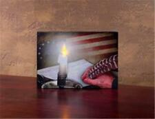 Signing Of The Constitution ~ United States Of America Lighted Canvas Painting