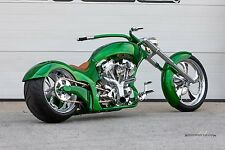 "24"" x 16"" Poster Chopper Custom Tuning Hot Rod Super Bike"