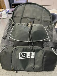 K9 Pursuits Pup-Pocket Front Mounted Dog Carrier, Small Grey