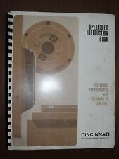 Cincinnati 200 Series with Telematic II Control Operation Book