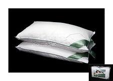 COPPIA di cuscini in microfibra super morbido come giù lusso interno riempitivo Pad Bianco