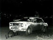 Walter Rohrl FIAT 131 ABARTH RAC Rally 1979 firmato fotografia 3