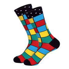 Xmas Long Arrived Brand Men Socks Funny Cotton Casual Animals&Stripes Happy Sock