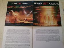 QUEEN Live Killers *MEGARARE NEW ZEALAND VINYL DOLP incl. INNERSLEEVES*1979