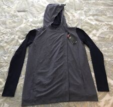 Under Armour Women's Two-Tone Navy Loose Fit Button Closure Jacket Size Small