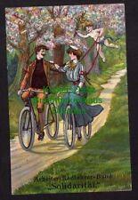 117321 AK Arbeiter Radfahrer Bund Solidarität um 1910 Fahrad