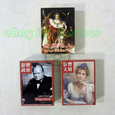 Playing card/Poker DECK World Celebrities of 54 People in Politics or Literary