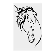 Horse Head Animal Vinyl Wall Decal Removable Wall Sticker Home Decor Art Mural H