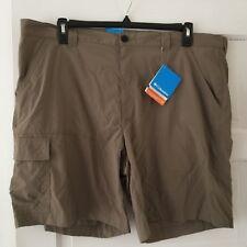 Columbia Sportswear Men's Shorts Size 42 Tan Quick Dry Hiking Omni Shade