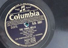 78rpm LES COMPAGNONS DE LA CHANSON the three bells / that lucky old sun
