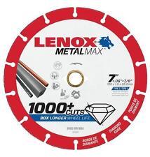 "NEW LENOX 1972924 7"" x 7/8"" METALMAX GRINDER METAL CUTTING CUT-OFF WHEEL SALE"