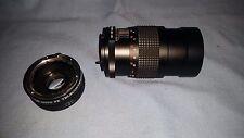 Beck 135mm f/2.8 lens/Dejur Auto 2x Teleconverter for Pentax
