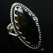 Labradorite 925 Sterling Silver Ring Size 6 Ana Co Jewelry R13357