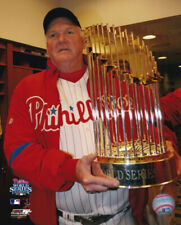 Charlie Manuel Philadelphia Phillies 2008 World Series 8x10 Photo