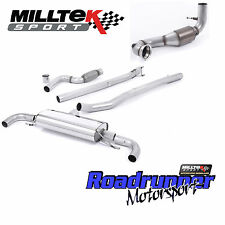 Milltek Turbo Back Exhaust Mercedes A-Class A45 AMG 2.0T & Cat NonRes Non Valved