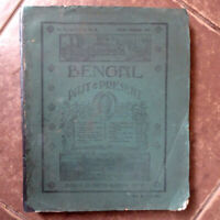 1914 v9 BENGAL Past & Present- Calcutta Historical So. INDIA Marriage, Christian
