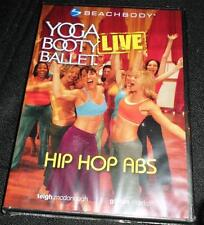 Yoga Booty Ballet Live: Hip Hop Abs (DVD) New