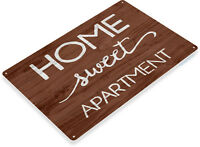 TIN SIGN Home Sweet Apartment Beach House Cottage Condo Décor Art Kitchen B049
