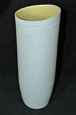 "ROSENTHAL Studio Line Papyrus Vase French Vanilla 10.5"" New"