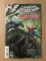 The Amazing Spiderman Curse of the Man-Thing #1 Variant Marvel 2021