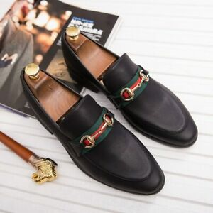 Casual Shoes Mens Shoes Loafers Shoes Leather Breathable Men's Flats Shoes