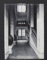 SASSENAGE (38) CHATEAU de BERENGER , ESCALIER , cliché période 1950