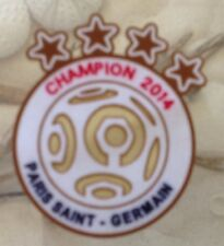 2014 Ligue 1 Paris Saint-Germain Champion Patch Badge Pièce Toppa Parche Flicken